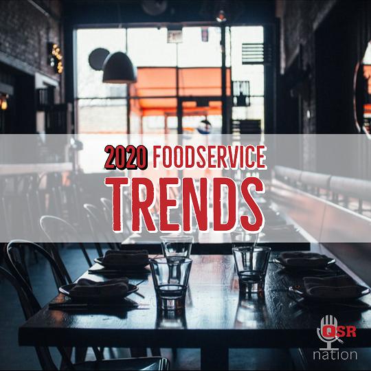 QSR Nation 2020 Foodservice trends